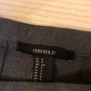 Forever 21 Skirts - Gray pleated mini skirt